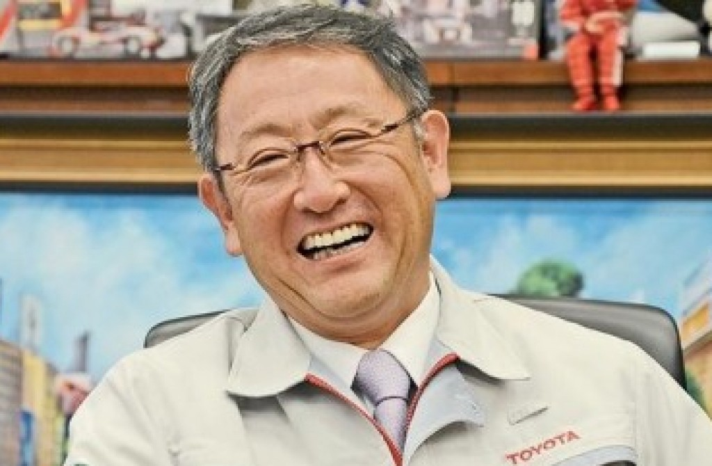 Akio Toyoda President And Ceo Toyota Motor Corporation