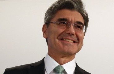 Joe Kaeser President and CEO, Siemens A.G. – email address