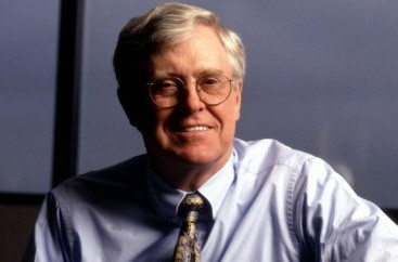 Charles Koch- Chairman and CEO, Koch Industries, Inc. – Email Address