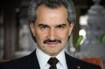 Al-Waleed bin Talal Founder and CEO, Kingdom Holding Company – email address