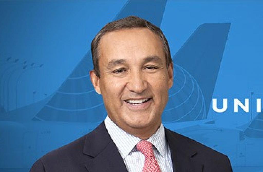 Oscar Munoz President And Chief Executive Officer Of